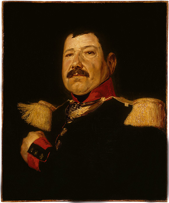 French Master, Captain François Laurent Lange, around 1830–48 Oil on canvas, 65 x 54 cm Oskar Reinhart Collection 'Am Römerholz', Winterthur